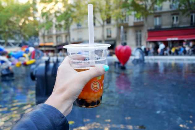 Bubble Tea in Paris