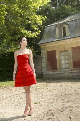 Maje-Red-Dress
