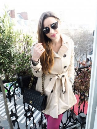 Trench coat paris