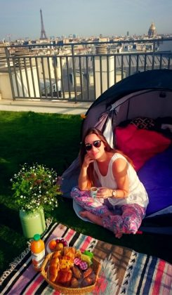Camping Chic in Paris