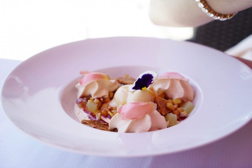 LE FOUQUET'S CANNES-dishes
