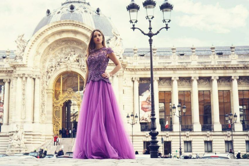 Shooting Coquette Italienne - HAUTE COUTURE LOVE WITH LIINA STEIN