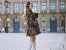 ANIMALIER + WHITE BOOTS : MY PFW LOOK