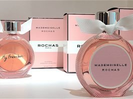 MADEMOISELLE ROCHAS : THE NEW FRENCH FRAGRANCE