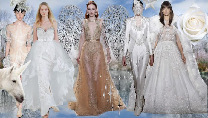 COUTURE WEEK PARIS : THE WEDDING ANGELS