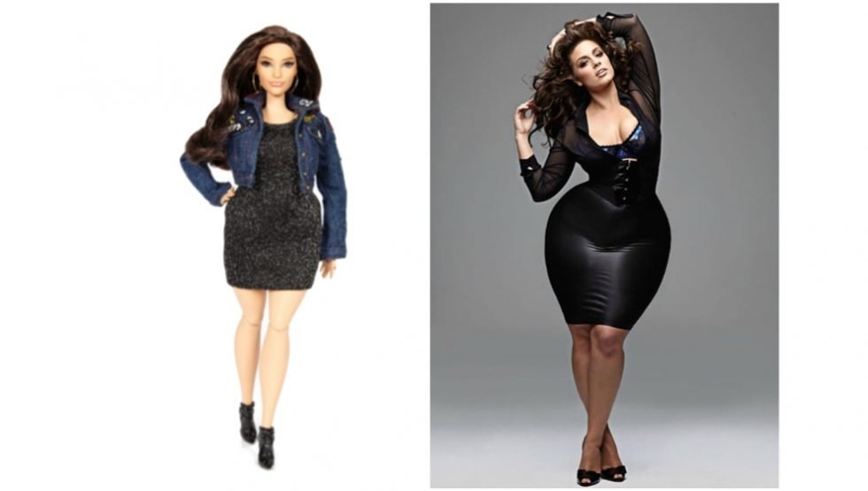 ASHLEY GRAHAM HAS HER CURVY BARBIE