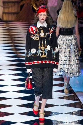 Dolce & Gabbana MFW16