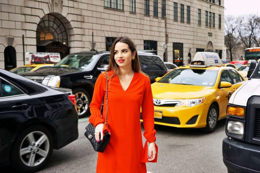 NEW YORK IN RED - Coquette Italienne
