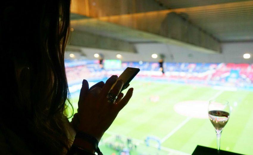 Coquette alla partita del PSG