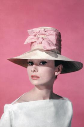 Audrey Hepburn I believe in Pink