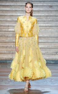 Tony Ward Haute Couture Printemps Eté 2020 jaune 02