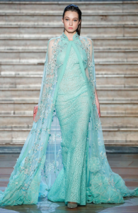 Tony Ward Haute Couture Primavera Estate 2020 verde 02