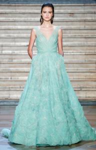 Tony Ward Haute Couture Printemps Eté 2020 - Vert