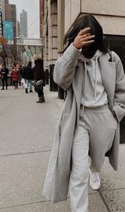 Oversize Grey Suit