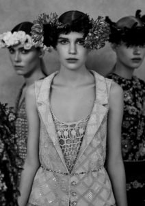 Chanel Haute couture 2021 tweed lurex