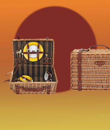 Country chic Pic nic set Fendi