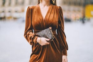 Velluto è la tendenza moda 2020-2021
