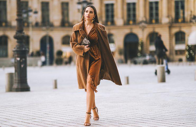 A trendy velvet look 2020