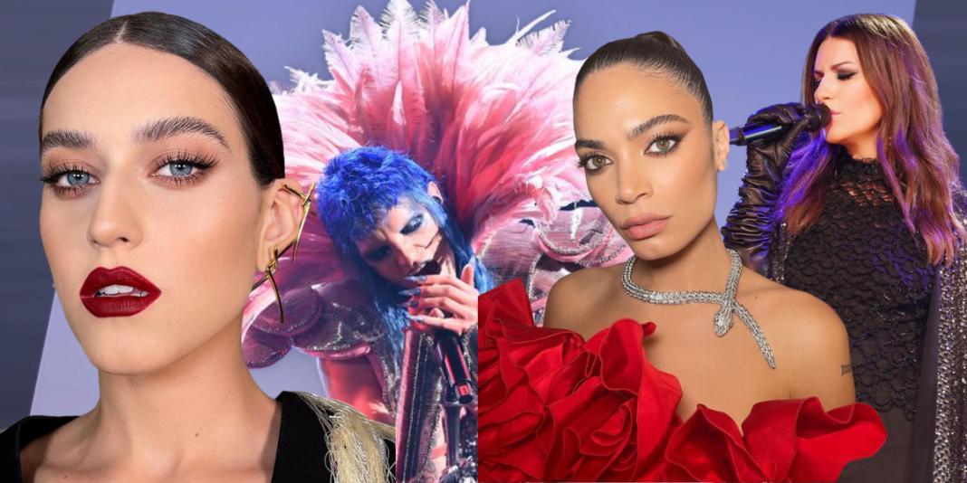 Sanremo 2021 il festival del glam makup