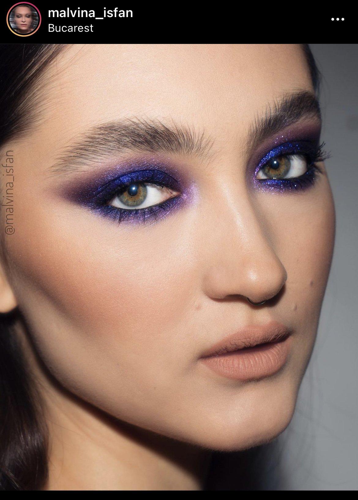 Malvina Isfan makeup trends instagram 2021